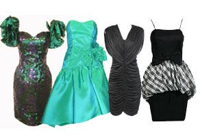 Prom Dress on 513 Vintage Women S Prom Dress 80 S Mix Watch Out For A Look That Can