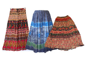 wholesale ethnic skirts