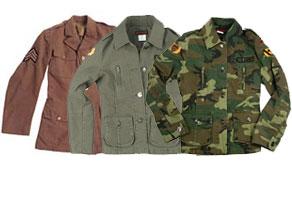 vintage Military Jackets
