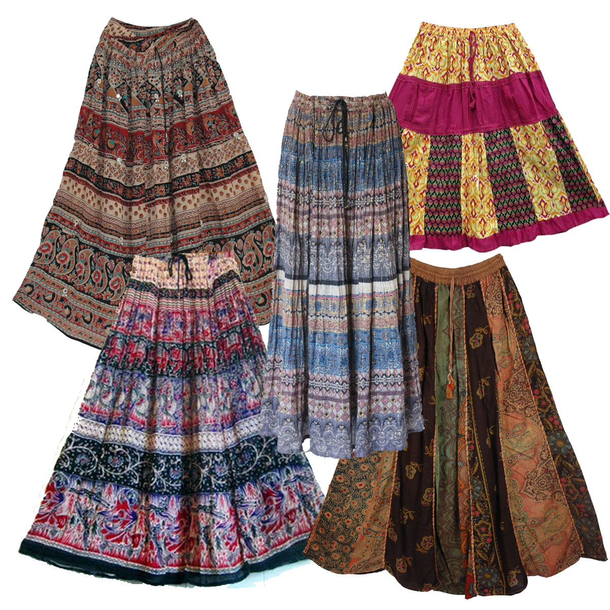 Vintage Ethnic Hippy Skirts Wholesale Clothing | : Dust ...
