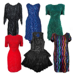 Delicate Sequin Dresses for Women