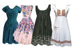 508 Vintage Retro Party Dresses