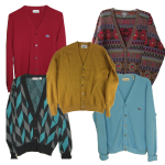 Vintage Cardigan Sweater Collection