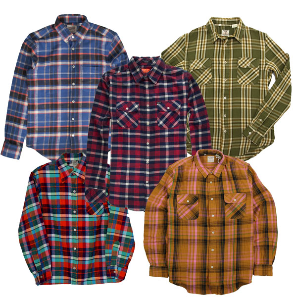 Vintage Flannel Shirts Wholesale