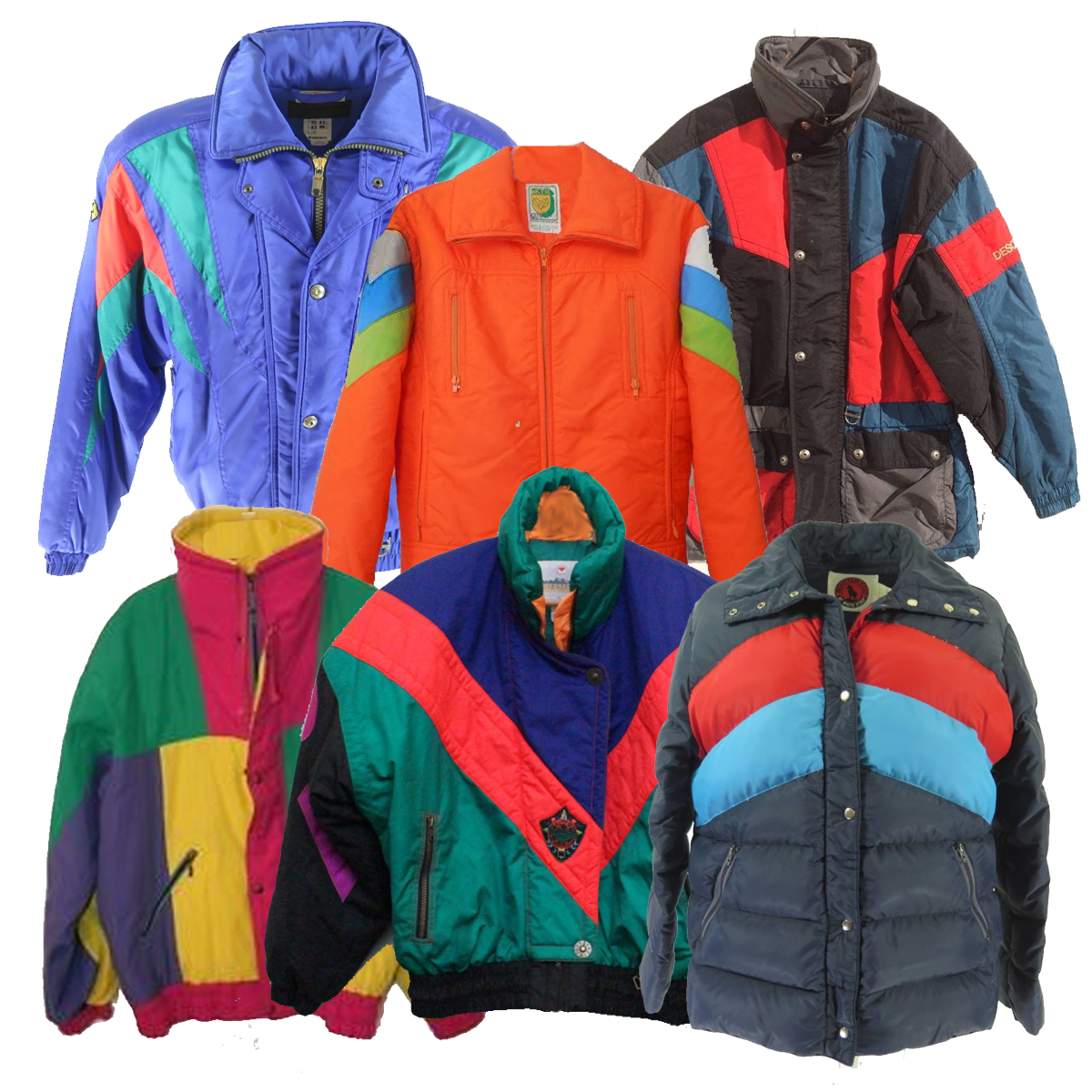 Wholesale Vintage Ski Jackets Dust Factory Vintage