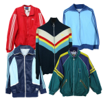 Vintage track and Field Jackets