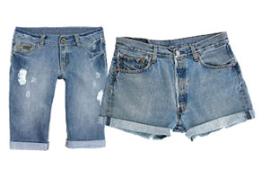 Vintage Levi Denim Shorts Wholesale Clothing