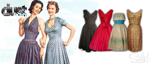 Vintage Dresses Archives - Dust Factory Vintage Clothing Wholesale