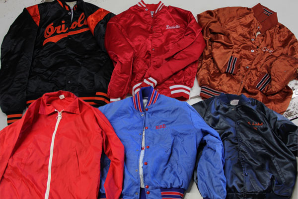 Vintage Nylon Baseball jackets