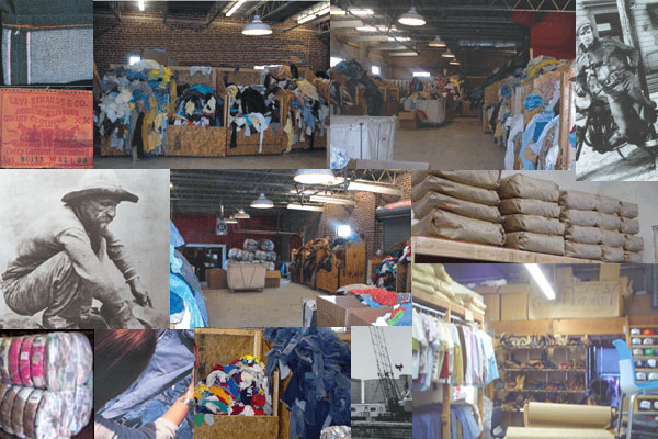 Online Vintage Clothing Warehouse Open to Buyers