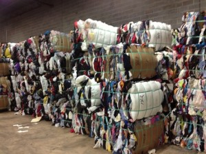 clothing bales