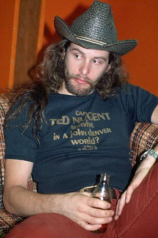 Ted Nugent in T-Shirt and Cowboy Hat - Dust Factory Vintage Clothing ... 1681b97a7fe