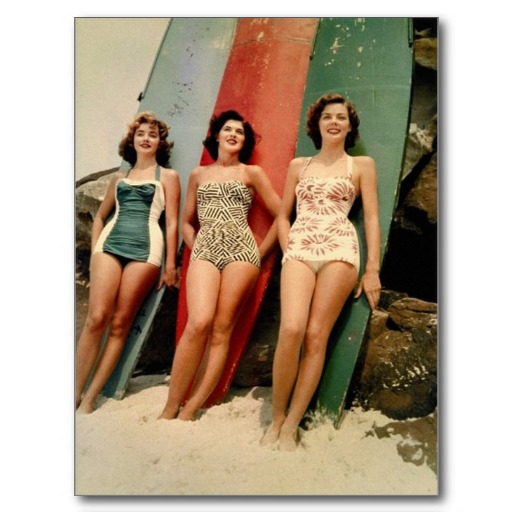 Early 60's Style Swimsuits