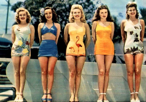 Early 60's Beachwear