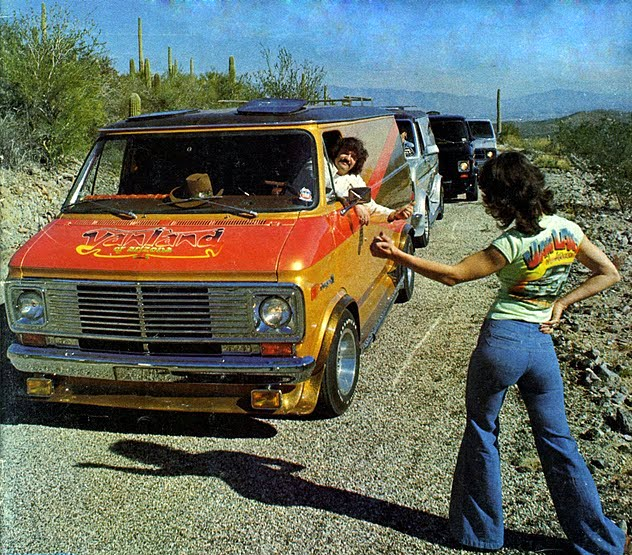 Style On Wheels 1970 S Vintage Custom Van Craze