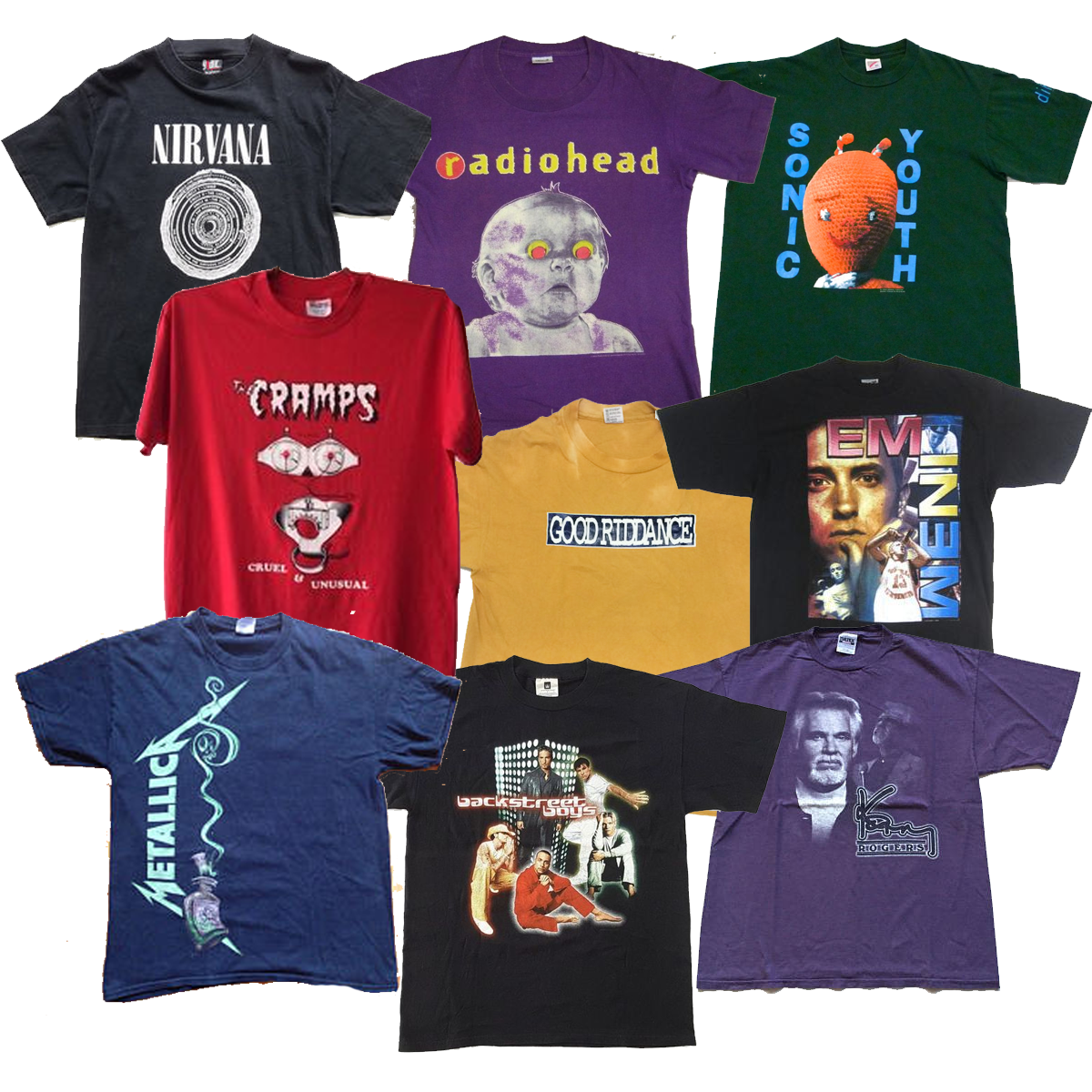 Rock T-shirt Mix