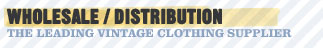 Vintage Clothing Wholesale
